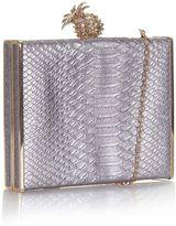 Yumi Pineapple Motif Clutch Bag