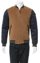 Moschino Virgin Wool Bomber Jacket w/ Tags