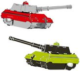 Protocol 2-Pack Tank Wind-Up Puzzle