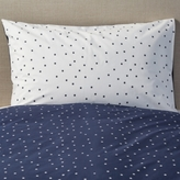 The White Company Star Reversible Housewife Pillowcase