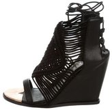 Ivy Kirzhner Woven Wedge Sandals w/ Tags