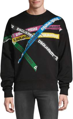 DSQUARED2 Graphic Logo Sweatshirt
