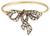 Marc Jacobs Crystal Embellished Bow Bracelet