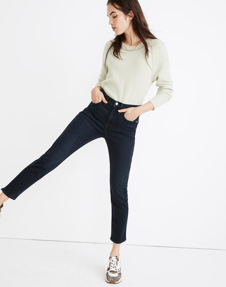 Madewell Petite Stovepipe Jeans in Macintosh Wash: TENCEL Denim Edition