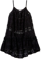 Milly Minis Lace Hi-Lo Cover-Up (Big Girls)