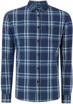 Criminal Peter Large Check Long Sleeve Shirt