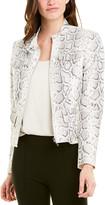 Elie Tahari Leather Jacket