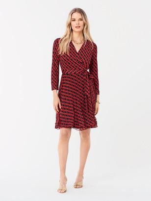 Diane von Furstenberg Irina Silk-Jersey Wrap Dress