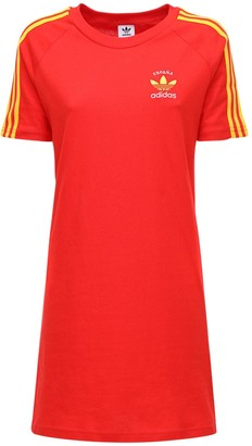 adidas 3-s Spain Cotton T-shirt Dress