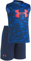 Under Armour 2-Pc. Printed T-Shirt & Shorts Set, Toddler Boys