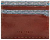 Ted Baker Felix Printed Leather Card Holder
