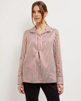 Jaeger Bold Striped Shirt