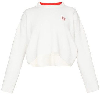 Loewe Anagram-embroidered Sweater - White
