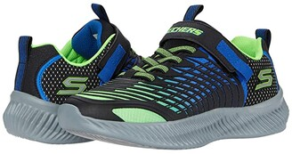 Skechers Sport - Optico 403627L (Little Kid/Big Kid) (Lime/Blue) Boy's Shoes