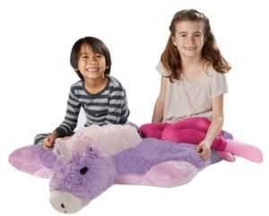 Pillow Pets Signature Jumboz Magical Unicorn Oversized Stuffed Animal Plush Toy