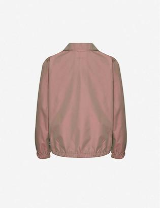 Stussy Iridescent boxy-fit woven jacket