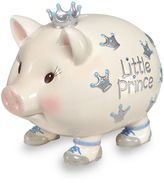 Mud Pie Giant Little Prince Piggy Bank