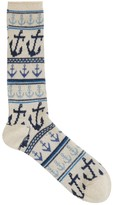 Anonymous Ism Cream Anchor Socks