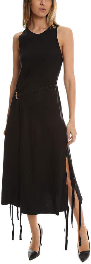Derek Lam 10 Crosby Dress with Horn Toggle Belt