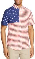 Vineyard Vines Usa Whale Murray Slim Fit Button-Down Shirt