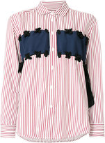 Paul & Joe contrast front striped shirt