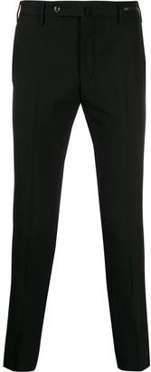 Pt01 mid-rise straight-leg trousers