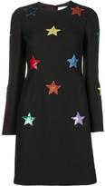 Valentino Wool Crepe Short Dress