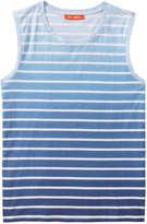 Joe Fresh Women's Stripe Ombré Tank, Blue (Size S)