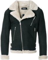Diesel classic shearling jacket