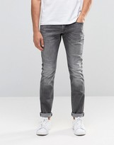 Esprit Skinny Fit Jeans In Mid Grey