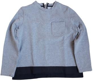 Marni Grey Cotton Knitwear