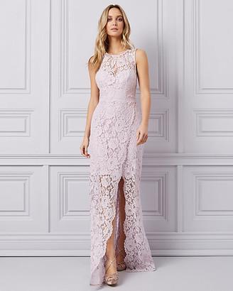 Le Château Lace Illusion Gown