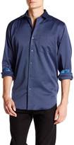 Bugatchi Printed Long Sleeve Classic Fit Shirt