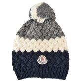 Moncler Logo Bobble Hat