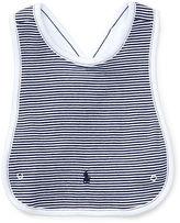 Ralph Lauren Striped Cotton Cross-Back Bib