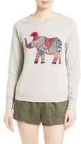 Soft Joie Women's Annora Embroidered Elephant Sweatshirt