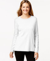 Style&Co. Style & Co Crew-Neck Top, Only at Macy's