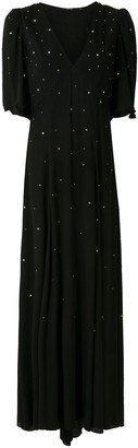 Eva Crystal Embellished Dress
