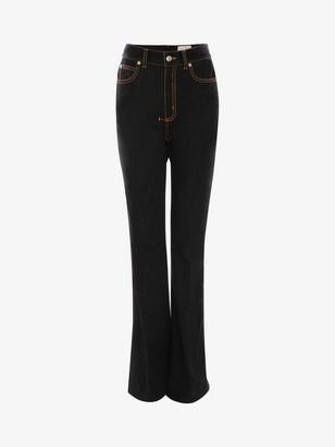 Alexander McQueen Narrow Bootcut Denim Pants