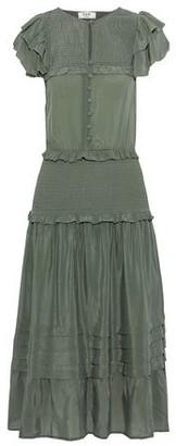 Sea 3/4 length dress