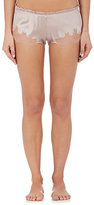 Carine Gilson Women's Flottant Lace-Trimmed Stretch-Silk Shorts