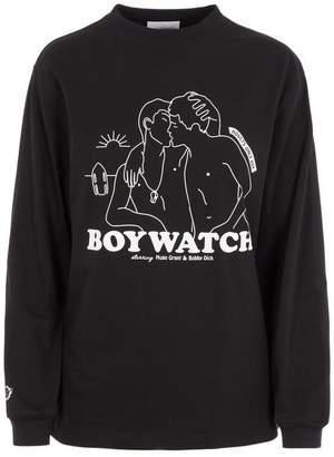 Carne Bollente Boywatch Long-Sleeve T-Shirt