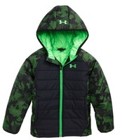 Under Armour Toddler Boy's Werewolf Water Resistant Hooded Puffer Jacket