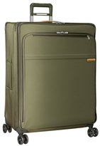 Briggs & Riley Men's 'Baseline' Extra Large Expandable Spinner - Green