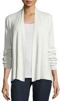 Eileen Fisher Silk/Organic Cotton Ribbed Cardigan