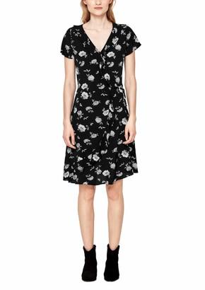S'Oliver Women's Knee-Length A-Line Short Sleeve Dress