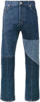 Alexander McQueen patchwork jeans - men - Cotton - 44