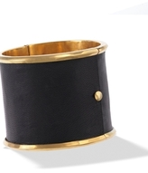 House of Harlow 1960 - Black Leather Cuff **Backorder**