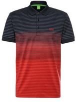 HUGO BOSS Paddy 3 Modern Fit, Cotton Polo S Open Red