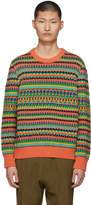 Stella McCartney Multicolor Knit Sweater